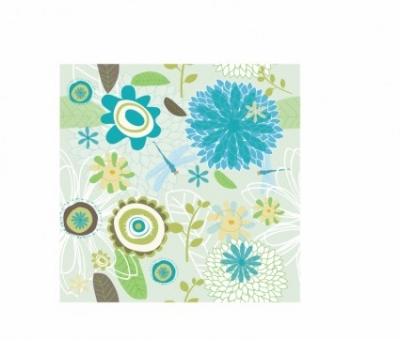 Free vector Vector pattern  Spring flower pattern