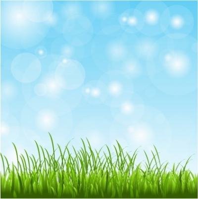 Free vector Vector background  Spring Grass