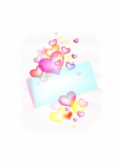Free vector Vector misc St. Valentine greetings card