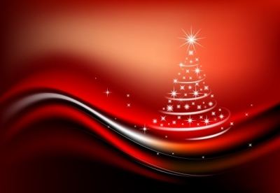 Free vector Vector Christmas  starlight christmas tree composed of vector