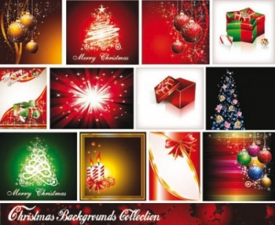 Free vector Vector background  starstudded christmas background 01 vector