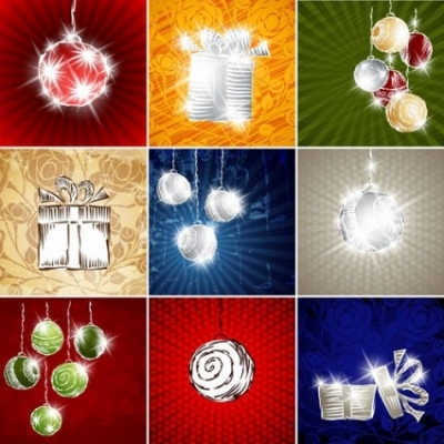Free vector Vector background  starstudded christmas background 02 vector