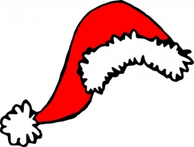 Free vector Vector clip art  Stephantom Santa Hat clip art