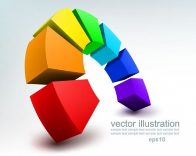 Free vector Vector background  stereoscopic technology background 02 vector