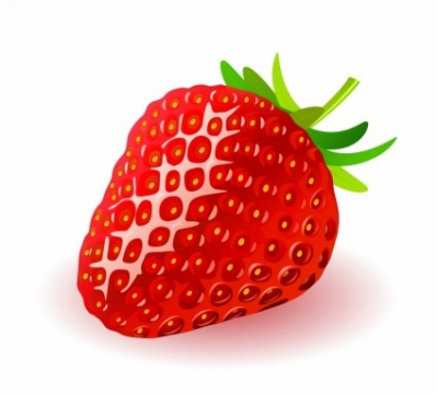Free vector Vector trust to nature  Strawberry