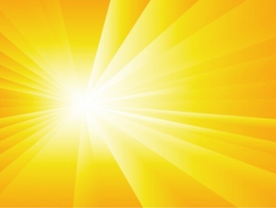Free vector Vector background  Summer Background with Sun Burst