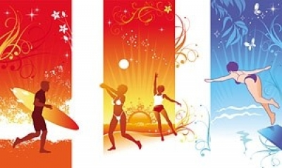 Free vector Vector people  summer cool vector