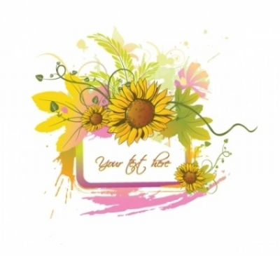 Free vector Vector floral  Summer floral