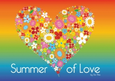 Free vector Vector Heart  Summer of Love