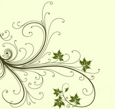 Free vector Vector abstract  Swirl Floral Abstract Vector Graphic