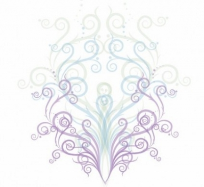 Free vector Vector floral  Swirl Floral Ornament Vector Graphic