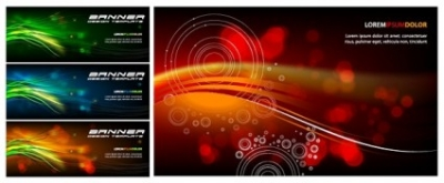 Free vector Vector banner  symphony banner vector background
