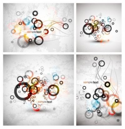 Free vector Vector background  symphony circle background vector