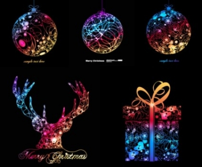 Free vector Vector Christmas  symphony of christmas graphics vector