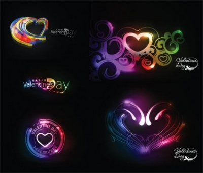 Free vector Vector Heart  symphony of love valentine day vector