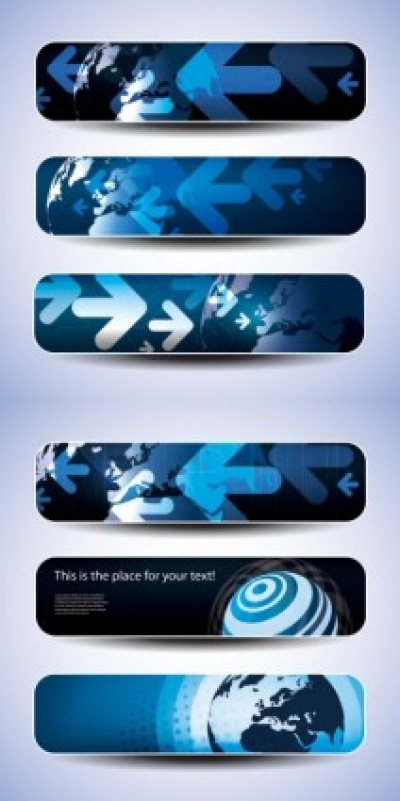Free vector Vector banner  technological sense banner vector
