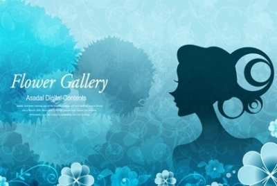 Free vector Vector pattern  The background and the girls character exquisite pattern vector picture