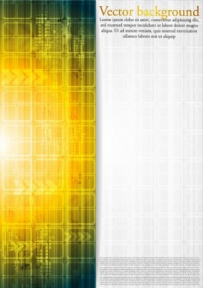 Free vector Vector background  the brilliant dynamic technology background vector