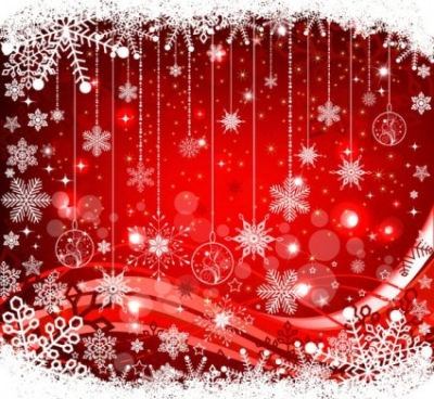 Free vector Vector background  the exquisite christmas ball background 05 vector