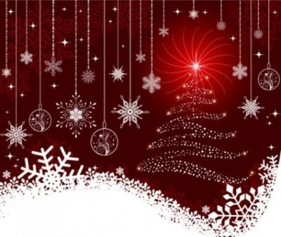 Free vector Vector background  the exquisite christmas ball background 06 vector