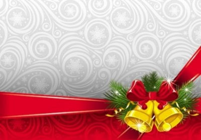 Free vector Vector background  the exquisite christmas bells background 06 vector