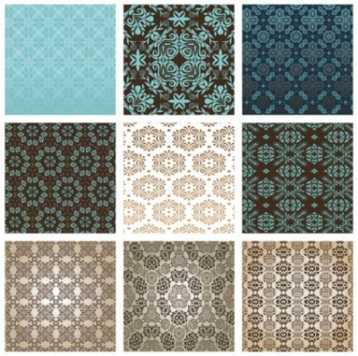Free vector Vector background  the exquisite pattern background pattern 01 vector
