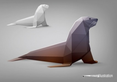 Free vector Vector misc  the facades body animal models 02 vector