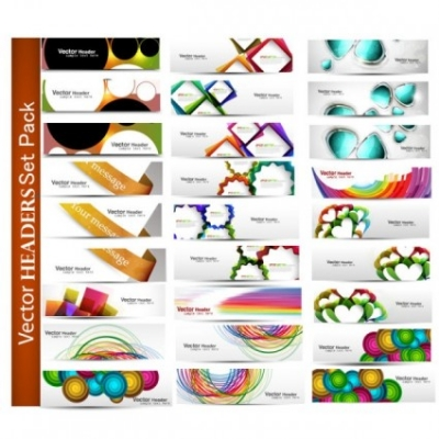 Free vector Vector banner  the fashion patterns banner01vector
