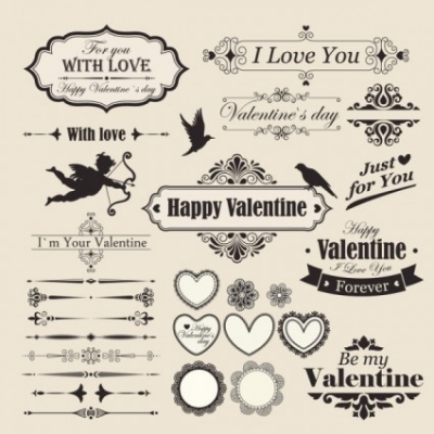 Free vector Vector Heart  the lace valentine39s day elements vector