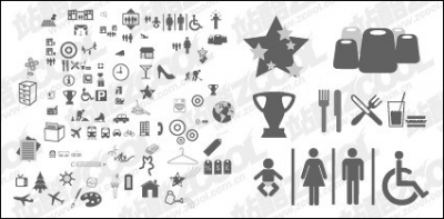 Free vector Vector icon  The more common vector graphics icon material