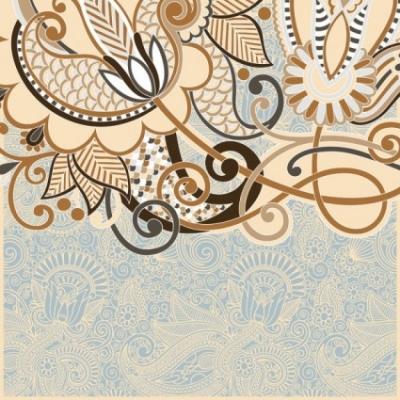 Free vector Vector background  the retro classic pattern background 03 vector