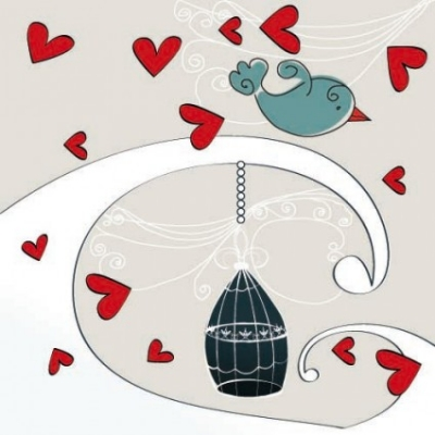 Free vector Vector cartoon  the romantic cartoon handpainted illustrations 04 vector