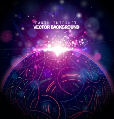 Free vector Vector background  the trend of colorful background 04 vector