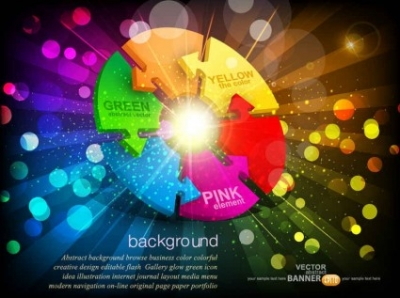 Free vector Vector background  The trend of colorful  vector background