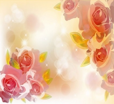Free vector Vector flower  the trend of flowers background 02 vector