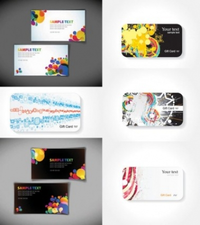 Free vector Vector background  the trend of the card background vector