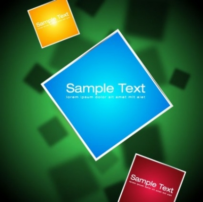 Free vector Vector background  the trend of threedimensional background 05 vector