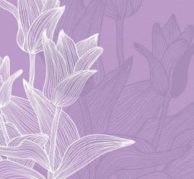 Free vector Vector background  the tulips background vector