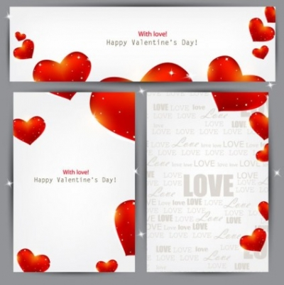 Free vector Vector Heart  the valentine paper backplane vector