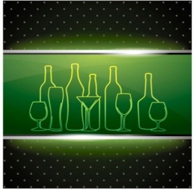 Free vector Vector background  the wineglass background menu vector