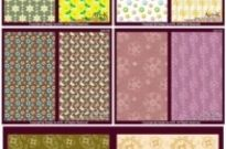 Free vector Vector background  14 cute little pattern background vector base map case