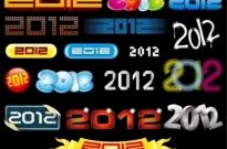 Free vector Vector misc  2012 New Year Vector Collection