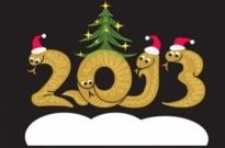 Free vector Vector background  2013 year of the snake christmas cartoon background 01 vector
