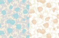 Free vector Vector background  2color roses and elegant vector background