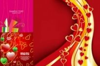 Free vector Vector Heart  3 beautiful valentine day vector elements