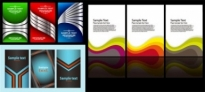 Free vector Vector misc  3 sets of card template vector