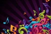Free vector Vector background  3D Colorful Music Vector Background