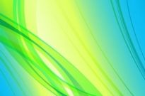 Abstract Green Blue Yellow Background Vector Graphic