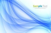 Abstract Smooth Wave Background Vector Art Graphic