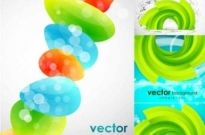 Free vector Vector background  A fresh creative background Vector Graphics